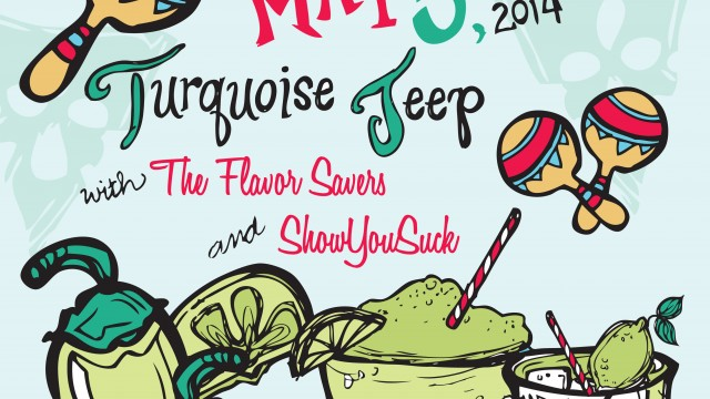 The Flavor Savers & Turquoise Jeep, May 5th, Chicago